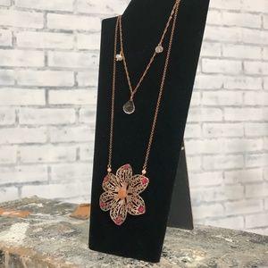 Jewelry - Hibiscus Flower Necklace